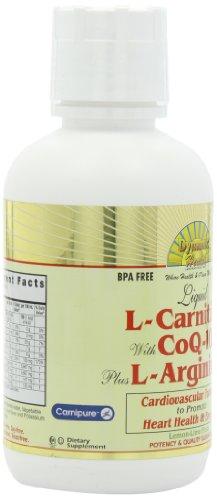 L-CARNITIN 1000mg mit CoQ10 25mg Plus L-ARGININ 1000mg Zitronen-Limettenaroma 473ml