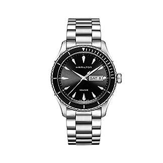 Hamilton-Herren-Analog-Quarz-Uhr-mit-Edelstahl-Armband-H37511131