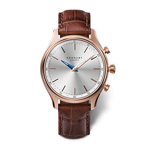 Kronaby-sekel-A1000-2748-Unisex-Automatik-Uhren-Zertifiziert-und-Generalberholt