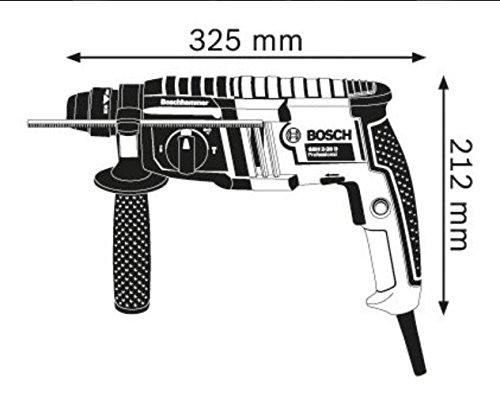 Bosch-Professional-Bohrhammer-GBH-2-20-D-650-Watt-Bohr–Beton-max-20-mm-SDS-plus-im-Koffer