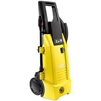 Hochdruckreiniger-Ninja-Plus-130-Kaltwasser-Hochdruckreiniger-130-bar-Arbeitsdruck-inkl-verschiedener-Zubehraufstze-Lieferleistung-420-lh-mit-Rollen