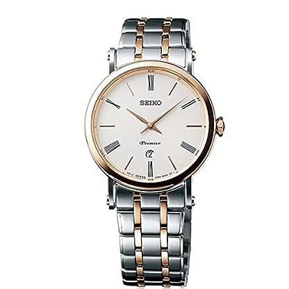 Seiko-Herren-Armbanduhr-Analog-Quarz-Edelstahl-SXB430P1