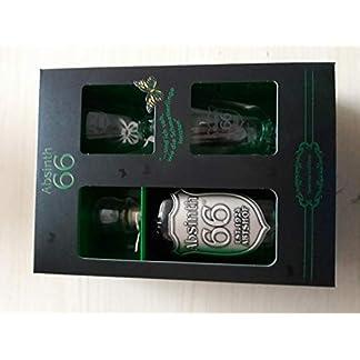 1-Geschenkbox-Absinth-a-700ml-666-Vol-2-Glser-2-Absinthlffel-Absinth-Zucker