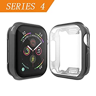Cerike-kompatibler-Apple-Watch-Series-4-Displayschutz-Soft-Slim-FullAround-Protective-iWatch-4-Schutzhlle-fr-Apple-Watch-Series-4-Smartwatch