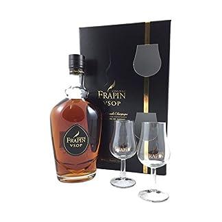 Frapin-VSOP-mit-Glsern-Cognac-40-07l-Flasche