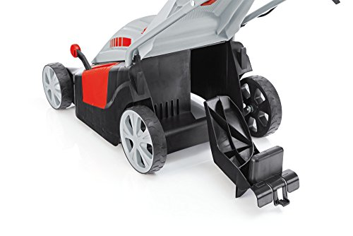 AL-KO-Elektro-Rasenmher-40-E-Comfort-40-cm-Schnittbreite-1400-W-Motorleistung-fr-Rasenflchen-bis-600-m-Schnitthhe-6-fach-verstellbar-inkl-Mulchkeil-inkl-43-l-Fangkorb-mit-Fllstandsanzeige