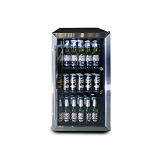 Datron-Bier-und-Drink-Weinregal-geeignet-fr-Zuhause-mit-Kompressor-freistehend