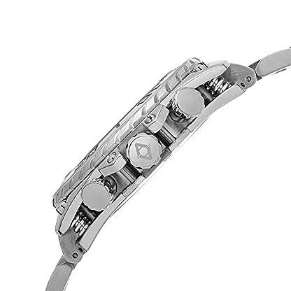 Akribos-XXIV-Herren-Eroberer-Chronograph-Edelstahl-Armband-Uhr