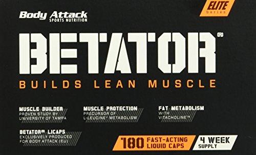 Body Attack Betator Fast Acting Liquid Caps, 180 Kapseln