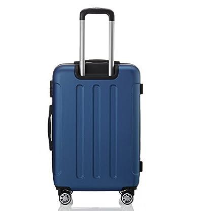 BEIBYE-2045-Zwillingsrollen-3tlg-Reisekoffer-Koffer-Kofferset-Trolleys-Hartschale-in-14-Farben