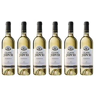 Jidvei-CLASIC-Chardonnay-Vin-Alb-Sec-Weiwein-trocken-aus-Rumnien-Weinpaket-6-x-075-L-Qualittswein-DOC–CMD