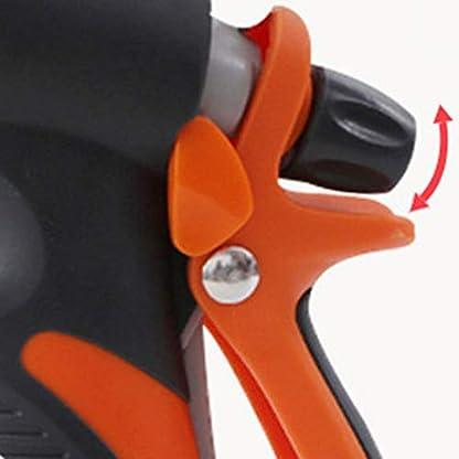 Robuste-und-langlebige-Gartensprhdse-Auslaufsicher-Hochdruck-Hochleistungsgieanlage-zum-Waschen-von-Autos-Haustiere-Dusche-Schwarz-und-Orange