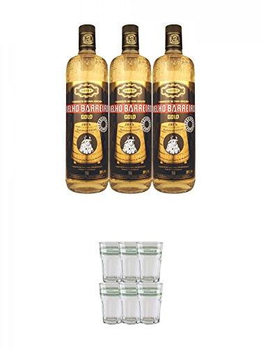 Velho-Barreiro-Gold-Cachaca-3-x-10-Liter-Velho-Barreiro-Caipirinha-Glas-6-Stck