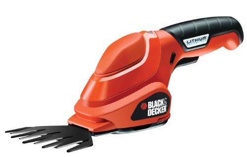 BlackDecker-Akku-Grasschere-36V-Li-Ion-ergonomisches-Design-Akku-Laufzeit-ca-45-min-Einschaltsperre-inkl-Ladestation-und-Ladekabel-LED-Ladeanzeige-GSL200