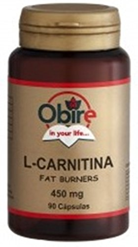 L-Carnitine – 450 Mg – 90 Gelatinekapseln. Reduzieren Sie Ihren Cholesterinsatz-