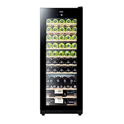 Haier-WS50GA-Weinkhlschrank-127-cm-Hhe-LED-Display-zur-Temperatureinstellung-Temperaturalarm