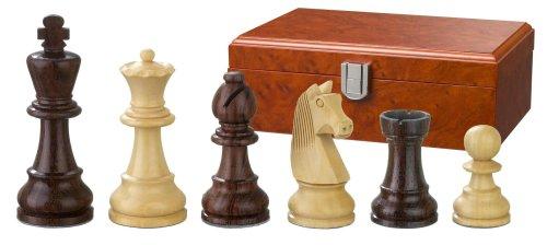 Philos-2115-Schachfiguren-Barbarossa-Knigshhe-90-mm-gewichtet-in-Figurenbox