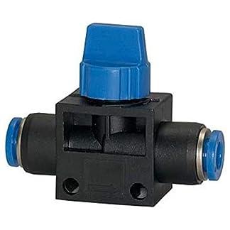 Absperrventil-mit-Steckanschluss-Blaue-Serie-fr-Schlauch-Auen–12-mm-Arbeitsdruck-max-15-bar-KunststoffMessing-vern