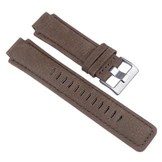 Timex-Ersatzband-Leder-Braun-16mm-fr-T2N721-T2N739-T2P141-T2N720-T2N722-T2N723-T49709