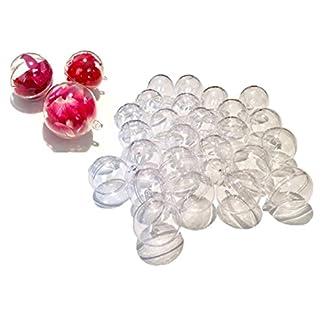 25-Stck-Acryl-Kugeln-4-cm-Bastel-Kugeln-Acrylkugel-transparent-teilbar-durchsichtig-Kunstoff-Kugel-Acryl-Acrylic-ball-von-CRYSTAL-KING