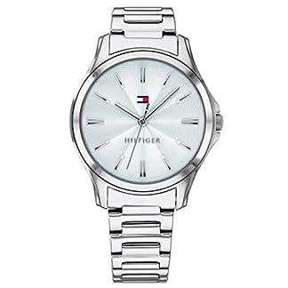 Tommy-Hilfiger-Damen-Analog-Quarz-Uhr-mit-Edelstahl-Armband-1781949
