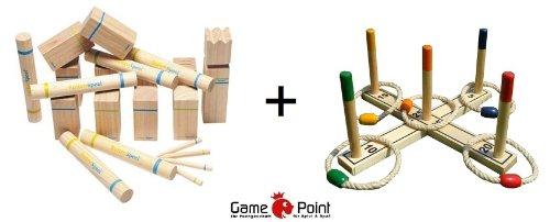 Super-Angebot-Original-Outdoor-Kubb-Spiel-Knig-ca-30-cm-aus-Birkenholz-Ringwurfspiel