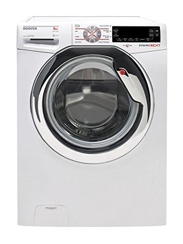 Hoover-dxt42-38-ah-30-autonome-Belastung-Bevor-8-kg-1300trmin-A-10-wei-Waschmaschine–Waschmaschinen-autonome-bevor-Belastung-wei-links-LCD-chrom