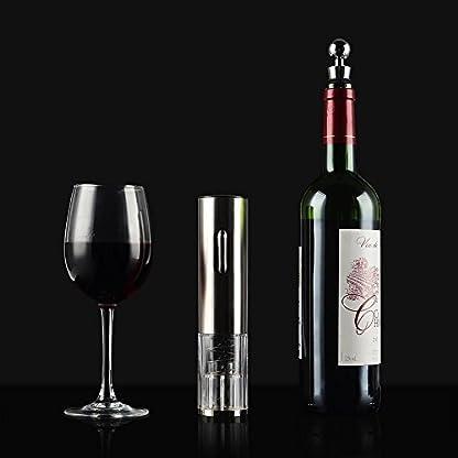 Elektrischer-Korkenzieher-Flaschenffner-LOUISWARE-Weinffner-Automatisch-Wiederaufladbar-ffner-fr-Wein-Professionelle-Haushalt-Set-mit-Kapselschneider-fr-WeinflaschenLED-LeuchtenSilber