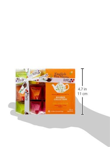 English-Tea-Shop-Teegeschenk-mit-SchleifeRooibos-Tee-Kollektion-BIO-12-Pyramiden-Beutel
