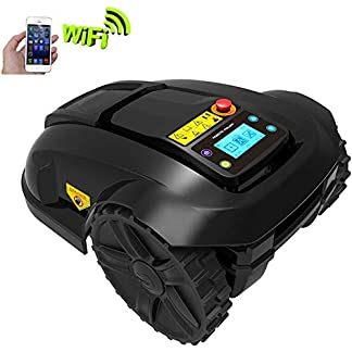 Roboter-Rasenmher-Sport-Robotic-Automower-Robotic-Rasenmher-High-Cut-Smart-Wi-Fi-Regen-Schutz-Obstacle-Avoidance-Timing-Anti-Diebstahl-Rasenmher