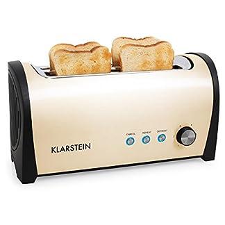 Klarstein-Cambridge-Edelstahl-2-und-Doppel-Langschlitz-4-Scheiben-Toaster-silber