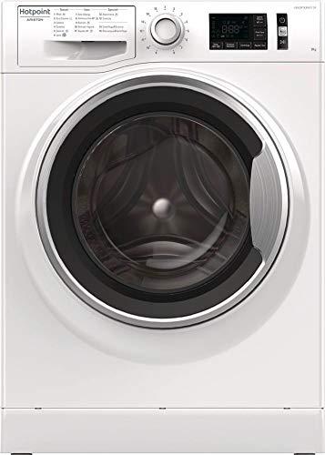 Hotpoint-NR649GWSA-Waschmaschine-freistehend-Beladung-oben-9-kg-1400-Umin-A-Drehknpfe-links-LED