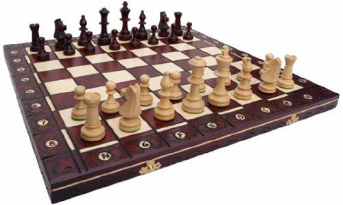 ChessEbook-Schachspiel-aus-Holz-49-x-49-cm-Handarbeit