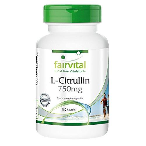 L-Citrullin 750 mg – 180 Kapseln