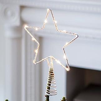 Lights4fun-LED-Stern-Christbaumspitze-Weihnachtsdeko-Batteriebetrieb