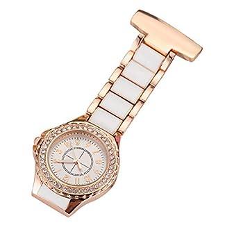 Gorben-Kristall-Krankenschwester-Wechselrahmen-Brosche-Pocket-Schlsselanhnger-Uhren-fr-Mnner-Frauen-Tasche