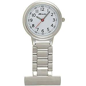 Ravel-Unisex-Analog-Uhr-mit-Legierung-Armband-R110110