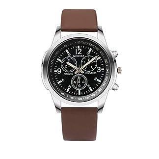 2019-Angebot-Mode-Herrenuhr-Minshao-DREI-Auge-Uhren-Quarz-Herrenuhr-Blau-Glas-Grtel-Armbanduhr-Mnner