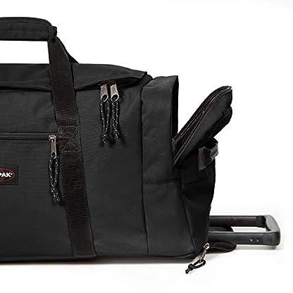 Eastpak-Leatherface-M-Reisetasche-87-cm-69-Liter-Black