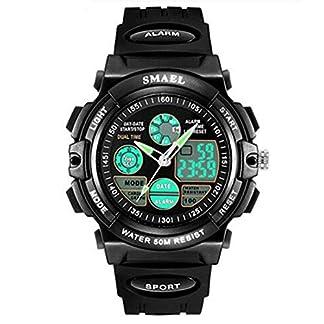 YHONG-Watch-Jungen-Digitaluhren-Wasserdicht-Kinderuhren-mit-1224-StundenDual-ZeitzoneAlarmStoppuhr-stofest-Kinder-Outdoor-Sports-Uhren-fr-Jugendliche-Jungen