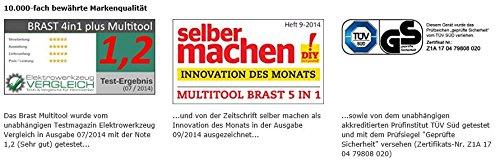 BRAST-Benzin-Multitool-30-PS-5-in1-Motorsense-Heckenschere-Hochentaster-Rasentrimmer-Astsge-Freischneider-52cm-TV-geprft