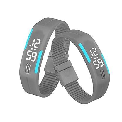 Franterd-Mode-Herren-Frauen-Damen-Armbanduhr-Elegant-Rubber-LED-Uhr-Datum-Sports-Armband-Digital-Armbanduhr-Grau