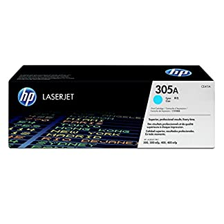 HP-305A-CE411A-Blau-Original-Toner-fr-HP-Laserjet-Pro-M351-M375nw-M451-M475