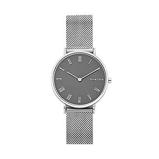 Skagen-Damen-Analog-Quarz-Uhr-mit-Edelstahl-Armband-SKW2677