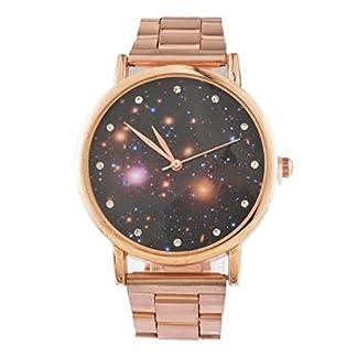 Souarts-Analog-Armbanduhr-mit-Stahlarmband-und-Meteor-Design-mit-Strassbesetzung-25-cm