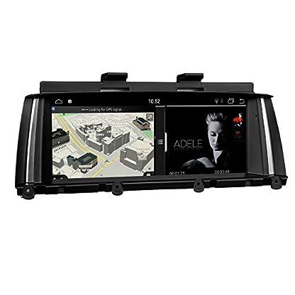 GA9305NB-Android-90-Fit-BMW-X3-F25-X4-F26-2014-2016-NBT-Audio-Stereo-Untersttzung-Auto-Play-Retain-iDrive-System-DVD-Bluetooth-SWC-Backup-Cam-88-Zoll-Blendschutz-HD-Touchscreen-GPS