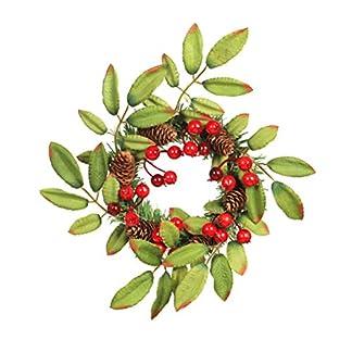 Amosfun-Weihnachten-Tannenzapfen-Kranz-Tr-Wand-Girlande-hngende-Verzierung-fr-Inneneinrichtung