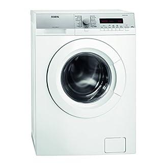 AEG-L76275SL-Waschmaschine-Frontlader-freistehende-Waschmaschine-mit-65-kg-ProTex-Schontrommel-Energieklasse-A-1510-kWhJahr-sparsamer-Waschautomat-mit-Mengenautomatik-silberfarben-und-wei