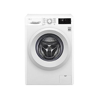 LG-f2j5tn3-W-autonome-Belastung-Bevor-8-kg-1200trmin-A-Wei-Waschmaschine–Waschmaschinen-autonome-bevor-Belastung-wei-links-LED-Edelstahl
