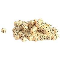 Weiblespiele-05205-Acryl-Wrfel-5-mm-100-Stck-Elfenbein
